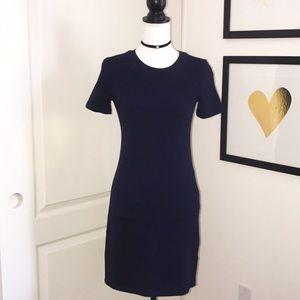 Zara Navy Blue Tshirt Dress